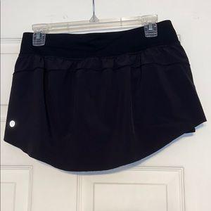 lululemon athletica Shorts - Black lululemon skort